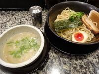 「つけ麺(塩)」@老舗らーめん 神虎 北新地本店の写真