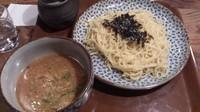 「味噌つけめん_730円」@炭火七輪 暖 大塚店の写真
