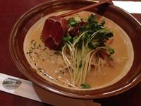「麻醤麺 +大盛り¥50」@ABCラーメン 銀座店の写真