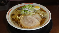 「煮干しの中華そば(平打麺200g)」@中華そば 満開の写真