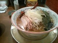 「にぼしラーメン」@スープ食道 宝の写真