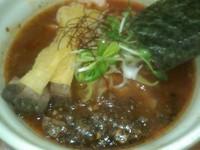 「海老キノコCHILI味」@麺場voyageの写真