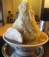 「爆中華:700円+野菜増し:50円」@らーめん ぬーぼう 三代目店の写真
