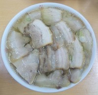 「肉そば:900円」@坂内食堂 喜多方本店の写真