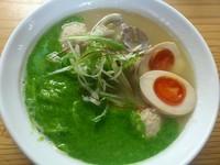 「浅利のパイタン麺(ハーフ麺)¥730+煮玉子(サービス)」@麺処 ぼたん 栃木店の写真