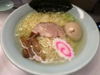 「味玉・塩 730円」@麺者 侍の写真