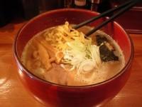 「Wスープらーめん」@麺道 ともよし 東三国店の写真