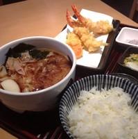 「きしめん定食(¥1,100)」@長壽亭の写真