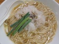 「浅利と煮干しの潮ソバ(800円)(当日のみ、20食限定)」@煮干中華ソバ イチカワの写真