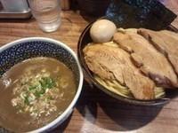 「特製鶏煮干つけ麺 950円」@煮干中華ソバ 宮庵の写真