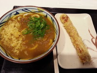 「カレーうどん+ちくわ天480円」@丸亀製麺 イーサイト高崎店の写真