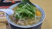 「ネギ肉そば 大盛り」@丸源ラーメン 甲府平和通り店の写真