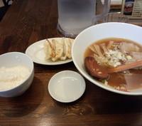 「ギョーザ定食(1000円)」@らーめんDining Jinの写真