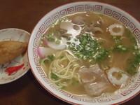 「中華そば(420円)きつねずし1ヶ(70円)」@小浜食堂の写真