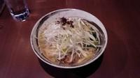 「ネギ塩ラーメン+鶏チャーシューご飯」@月の写真