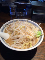 「タンメン(800円)+ミニ角煮丼(150円)」@らーめん嗟哉の写真