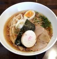 「名古屋コーチン鶏清湯SOBA 醤油(限定) @850円」@麺や ハレル家の写真