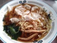 「ワンタン麺¥450」@山田うどん 安中店の写真