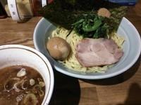 「つけ麺(中320g)780円+味玉(サービス)」@横浜家系濃厚とんこつラーメン 竹取家の写真