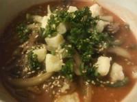 「【限定】 奏龍トマト味噌拉麺 和牛仕立てver」@拉麺酒房 熊人の写真