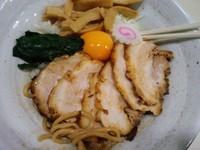 「復活!汁なし 油そば780円+半肉増し150円」@麺場 風天の写真