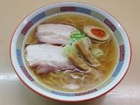 「塩らーめん(700円)」@煮干鰮らーめん 圓の写真