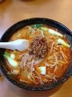 「氷花特製坦々麺」@氷花餃子 津新町の写真