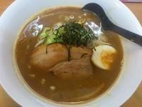 「炙りチャーシューカレーラーメン ¥880」@魔女のカレーの写真