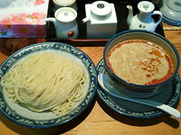 「タンタンつけ麺¥850」@龍神麺の写真