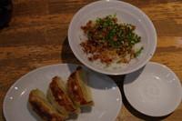 「豚めしセットの餃子3ケ」@らーめん花月嵐 上福岡店の写真