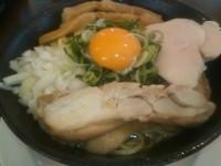 「鶏まぜそば 大盛(2玉)」@麺道 麒麟児の写真