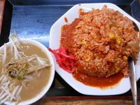 「チンピラチャーハン(激辛バージョン)」@味噌麺処 花道の写真