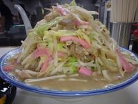 「ちゃんぽん麺野菜大盛(950円)餃子(220円)おにぎり1ヶ」@井手ちゃんぽん 本店の写真