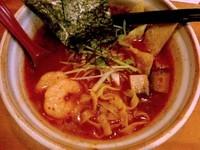 「海老キノコCHILI味900円」@麺場voyageの写真