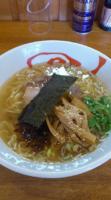 「塩らーめん 660円 メンマ(クーポン)」@らーめん うさぎやの写真