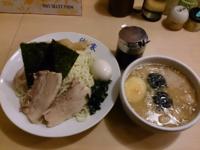 「スペシャル味噌つけめん・中盛」@手打ちつけ麺 欣家の写真