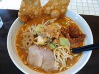 「白湯味噌麺 並 750円(1月限定)」@つけそば 麺彩房 五反田店の写真