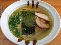 「塩そば 650円」@麺屋 むじゃきの写真