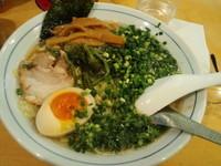 「豚骨醤油ラーメン細麺大盛 880円」@清華ラーメンの写真