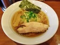「鶏醤油ラーメン\680」@七麺鳥の写真