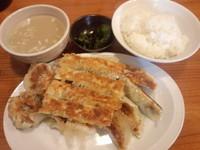 「餃子全品盛り、ご飯セット900円」@亀戸の餃子専門店 藤井屋の写真