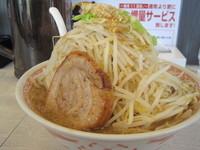「ど豚骨ふじ麺MAX 600円(クーポン価格)」@景勝軒 伊勢崎宮子町店の写真