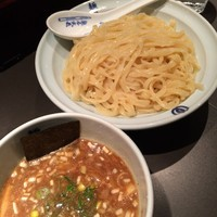 「つけ麺(中盛り)@800」@麺屋武蔵 虎嘯の写真