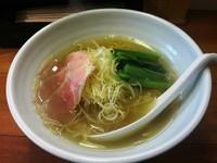 「塩らーめん」@麺屋 一徳の写真