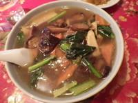 「香茹湯麺」@壹路發の写真