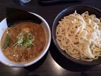 「つけ麺(熱盛り)+味玉」@ぶっこ麺らーめんの写真