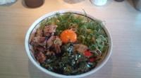 「ラー油九条ねぎ塩まぜそば」@麺屋 はなび 桑名店の写真
