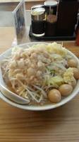 「ジャイ麺(780円→クーポンで600円)+味玉100円」@剛田製麺店 太田店の写真