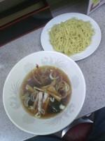 「つけ麺(中盛)600円」@まるよしの写真