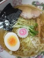 「ラーメン(白)¥600」@向嶋 だるまの写真